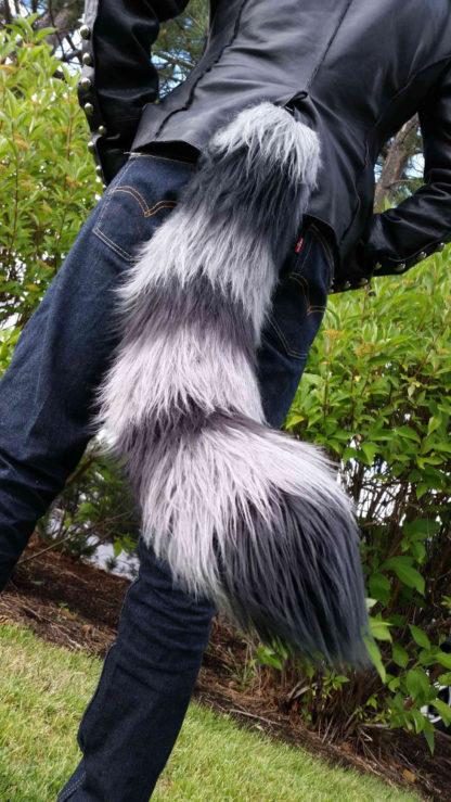 Furry Raccoon Costume Tail