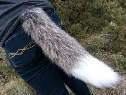 fox costume tail mini