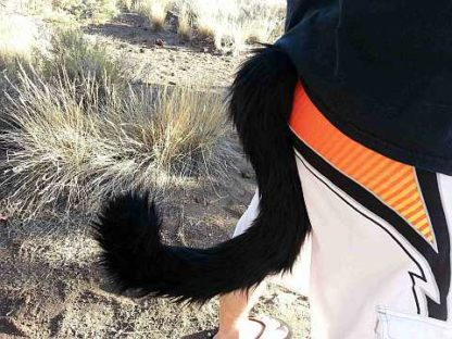 furry cat costume tail