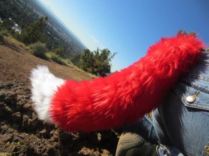 furry fox costume tail