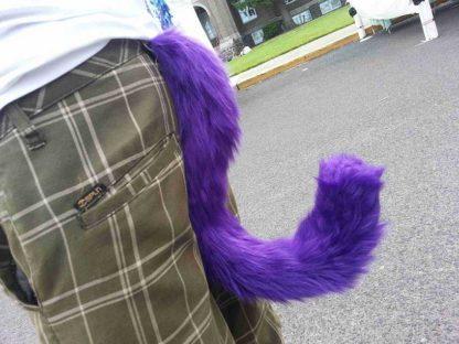 furry kitten costume tail