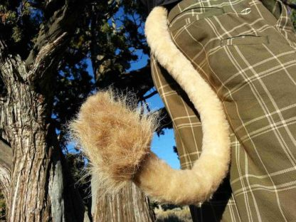 furry lion costume tail